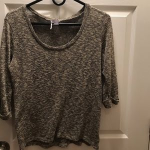 Sparkle & Fade slouchy top
